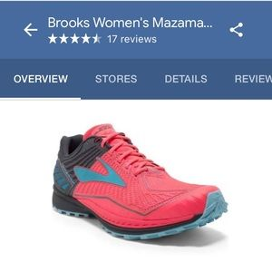 NEW Brooks Mazama Trail Running shoe size 7.5